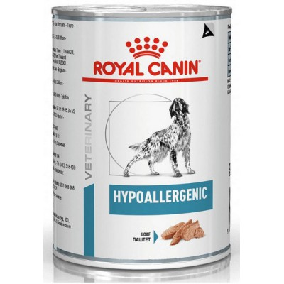 Royal Canin Veterinary Diet Canine Hypoallergenic puszka 400g